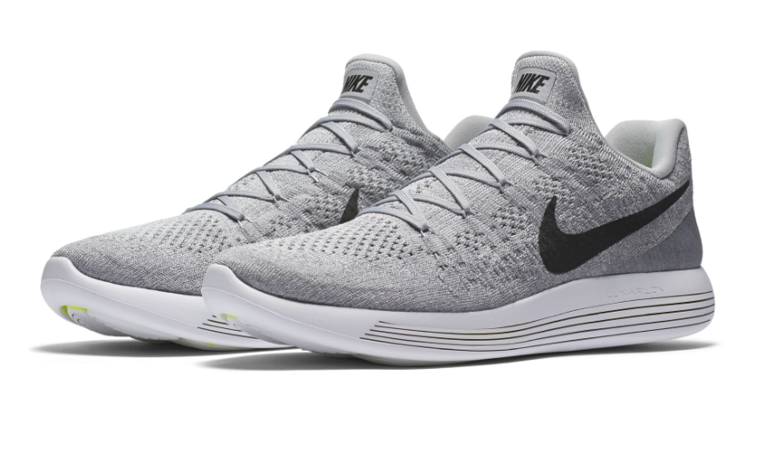New Mens Nike Lunarepic Flyknit 2 Grey Black Women Sport Sneakers Nike Free Shoes Womens Sneakers