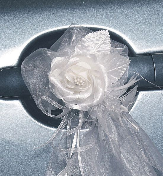 1000 images about voiture on pinterest deco wedding car decorations and cars - Noeud Pour Voiture Mariage Tulle