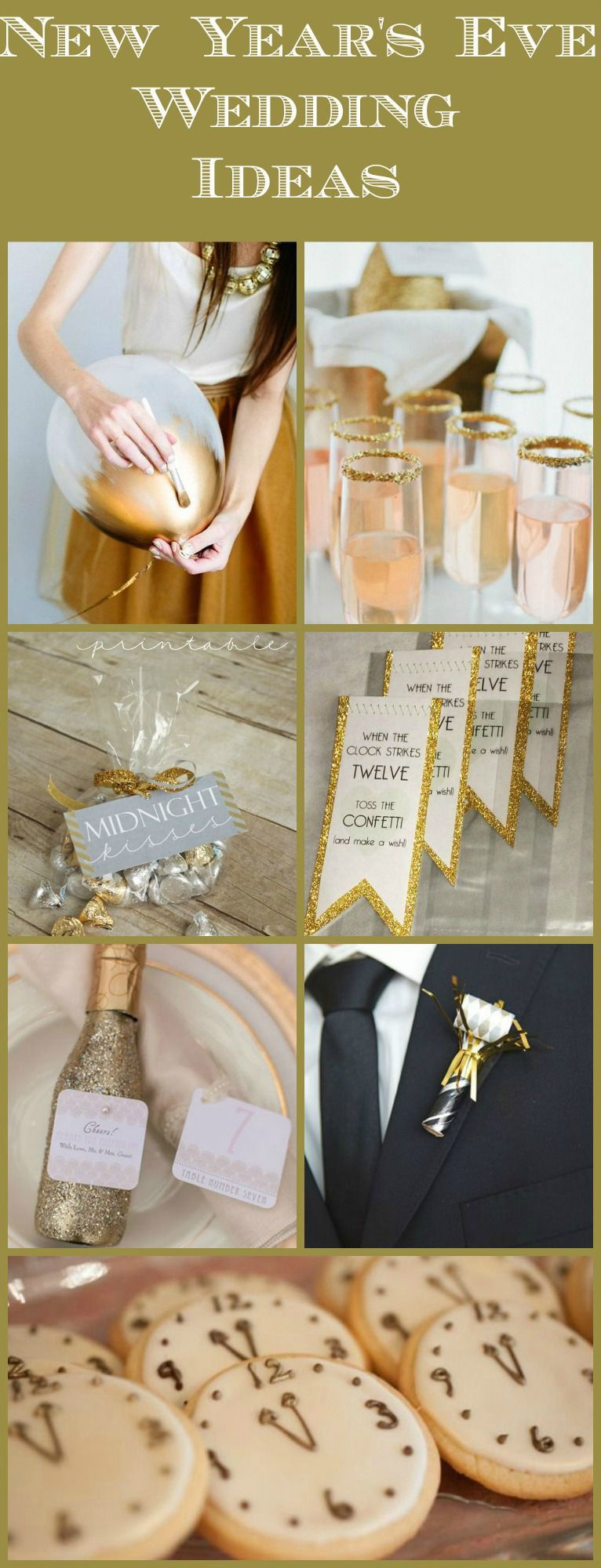 10 New Years Wedding Ideas - Rustic Wedding Chic