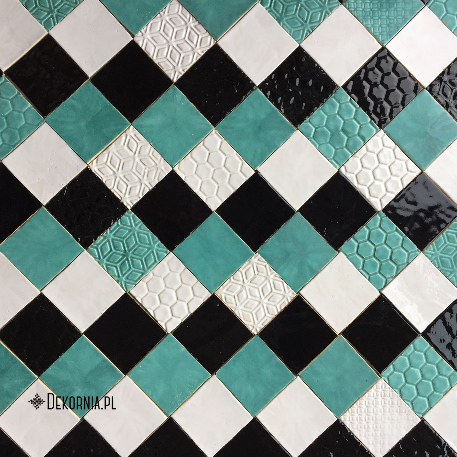 Colorful tiles, handmade ceramic tiles with multiple patterns ...