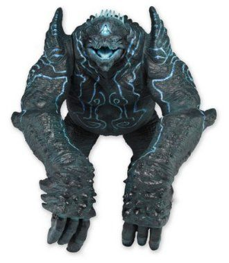 Leatherback from Pacific Rim, Character, NECA N31829 Leatherback Figure from Pacific Rim. It is made by NECA and is approximately 20 cm (7.9 in) high    One of the year's most anticipated films is Guillermo del Toro's epic sci-fi action movie Pacific Rim. When an alien attack threatens the Earth's existence, giant robots piloted by humans are deployed to fight off the menace.