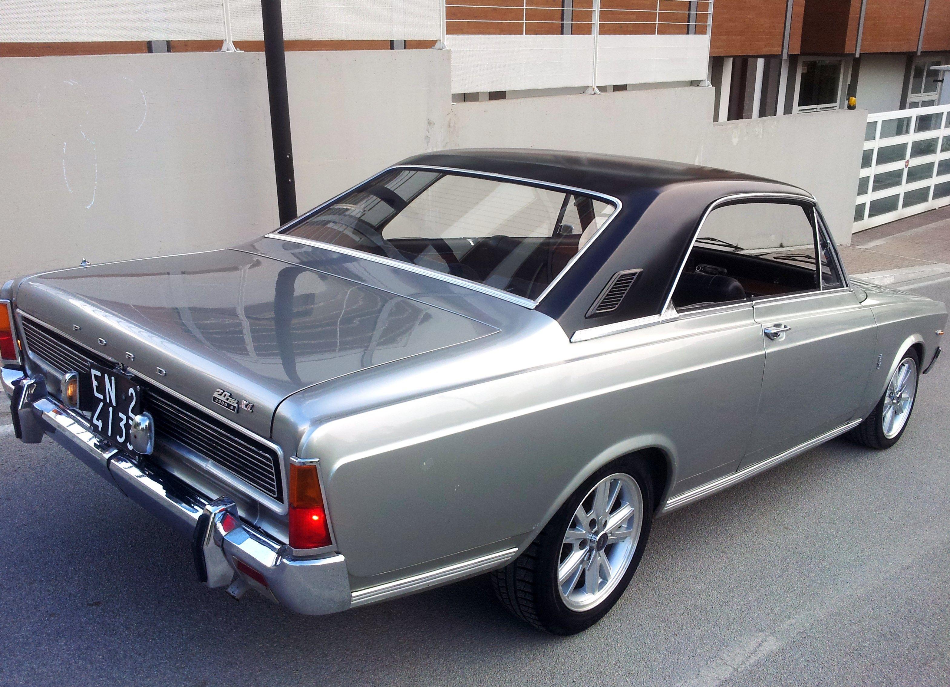 Ford taunus 2300s xl anno 1968 x info tel 3345717642