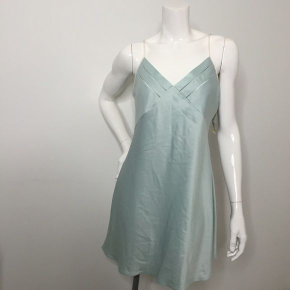 2fce08a69b3b Sexy Sleep Ware Night Gown Beautiful Silk in Tiffany Blue Color. Classy and  Sexy. Intimates   Sleepwear
