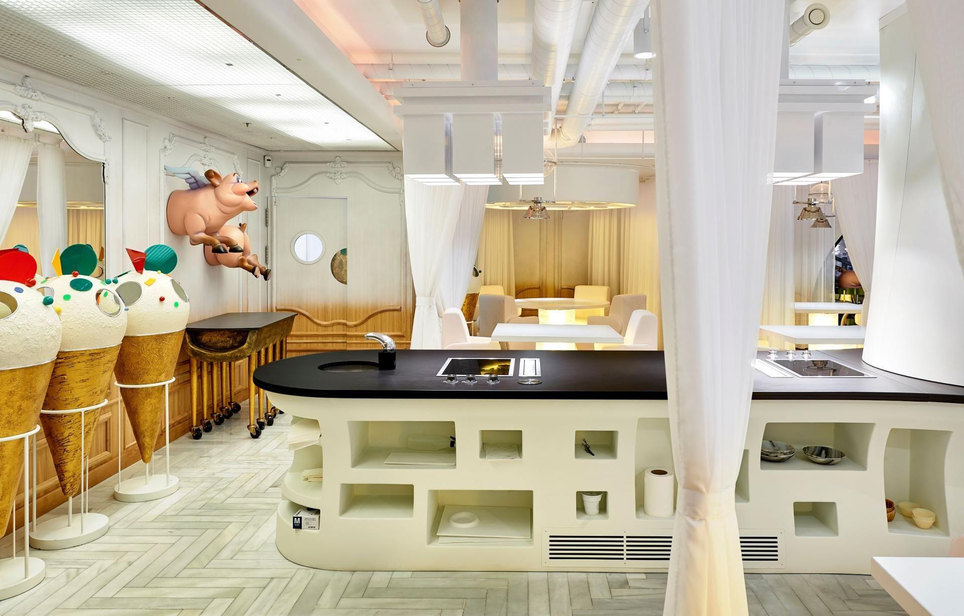 Large Format Ultra Compact Surface By Cosentino Diverxo Interiores Diseño De Interiores