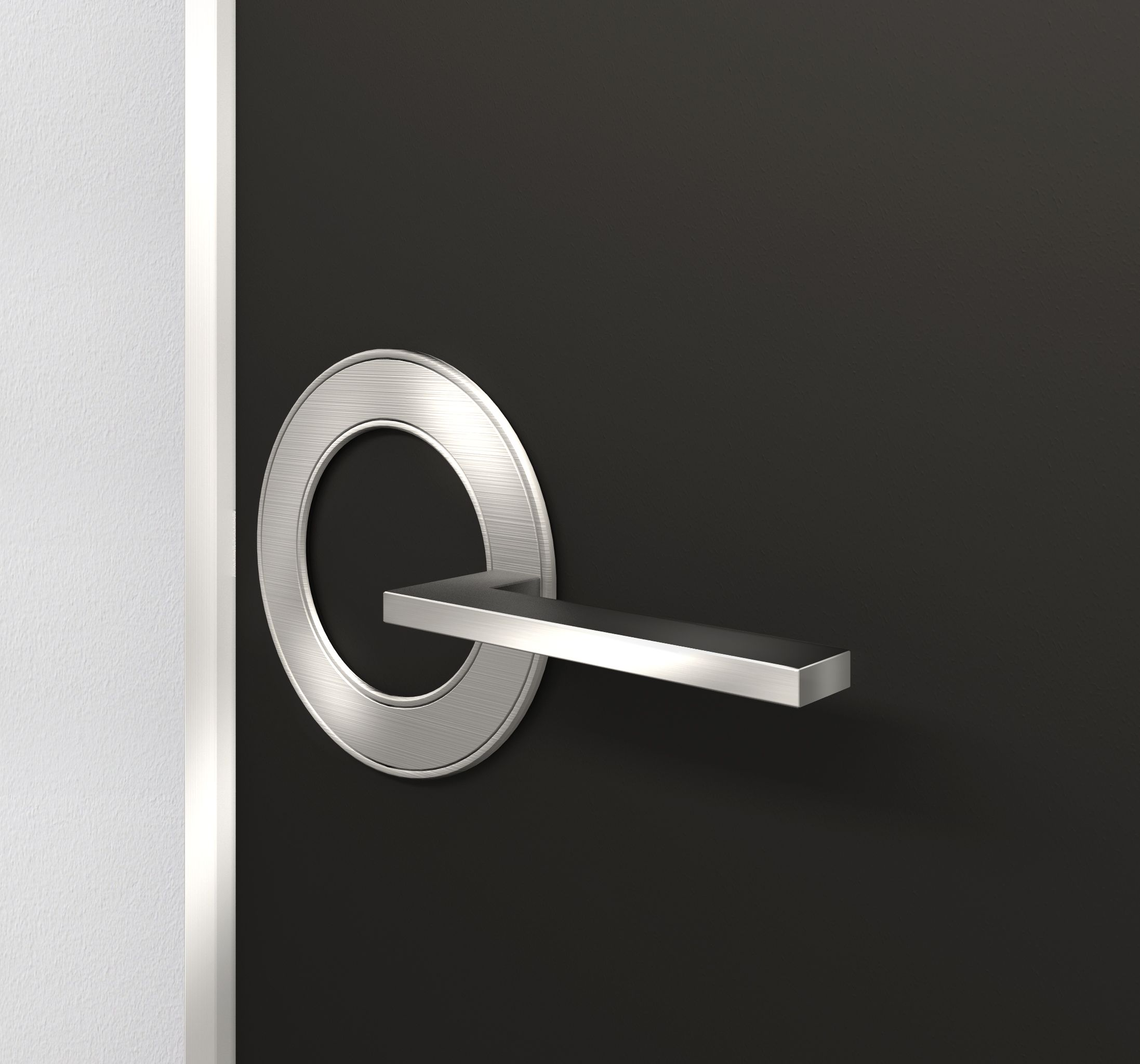 The Orb Door Handle Like The Design And Concept Behind This Lever Design More Suited For