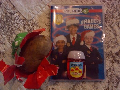 Potato Dvd And Squad Hand Sanitizer Best Odd Squad Christmas