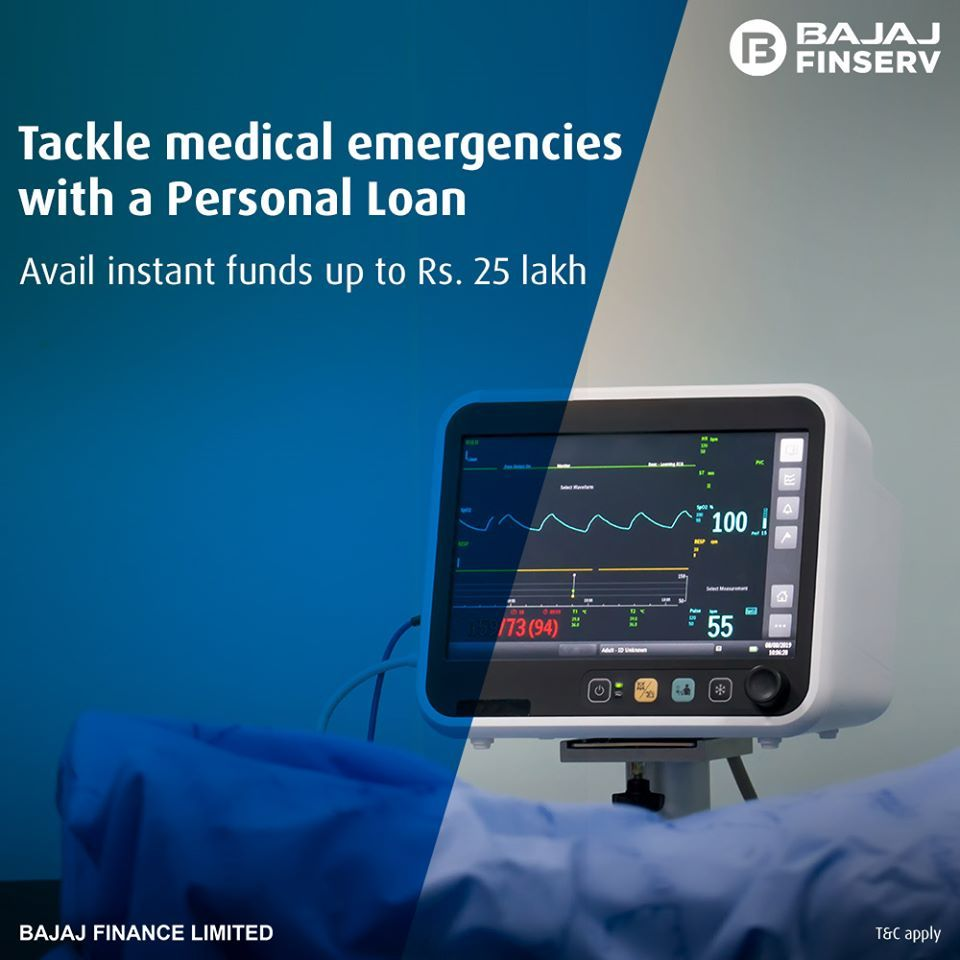 Tackle Medical Emergency With Instant Funds In 2020 Personal Loans Personal Loans Online Emergency Medical
