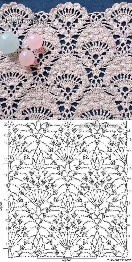 PUNTOS | Ganchillo, Puntos crochet y Tejido