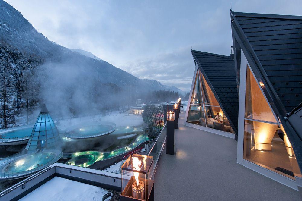 Europe S Top 10 Best Hot Springs Aqua Dome Längenfeld Austria