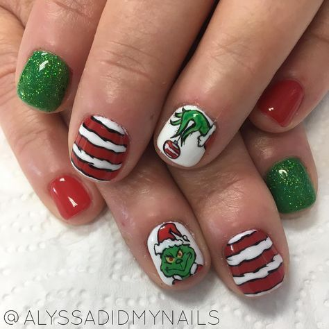 47 ideas nails design christmas grinch for 2019