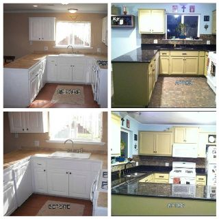 My Kitchen Remodel (facelift) by changing everything ...