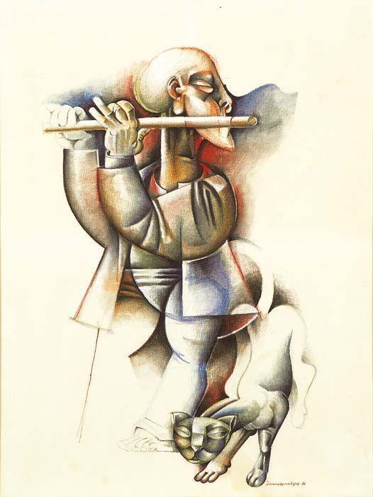 """O Flautista das Ruas"" Álvaro Brandão Apocalypse (1937-2003)"