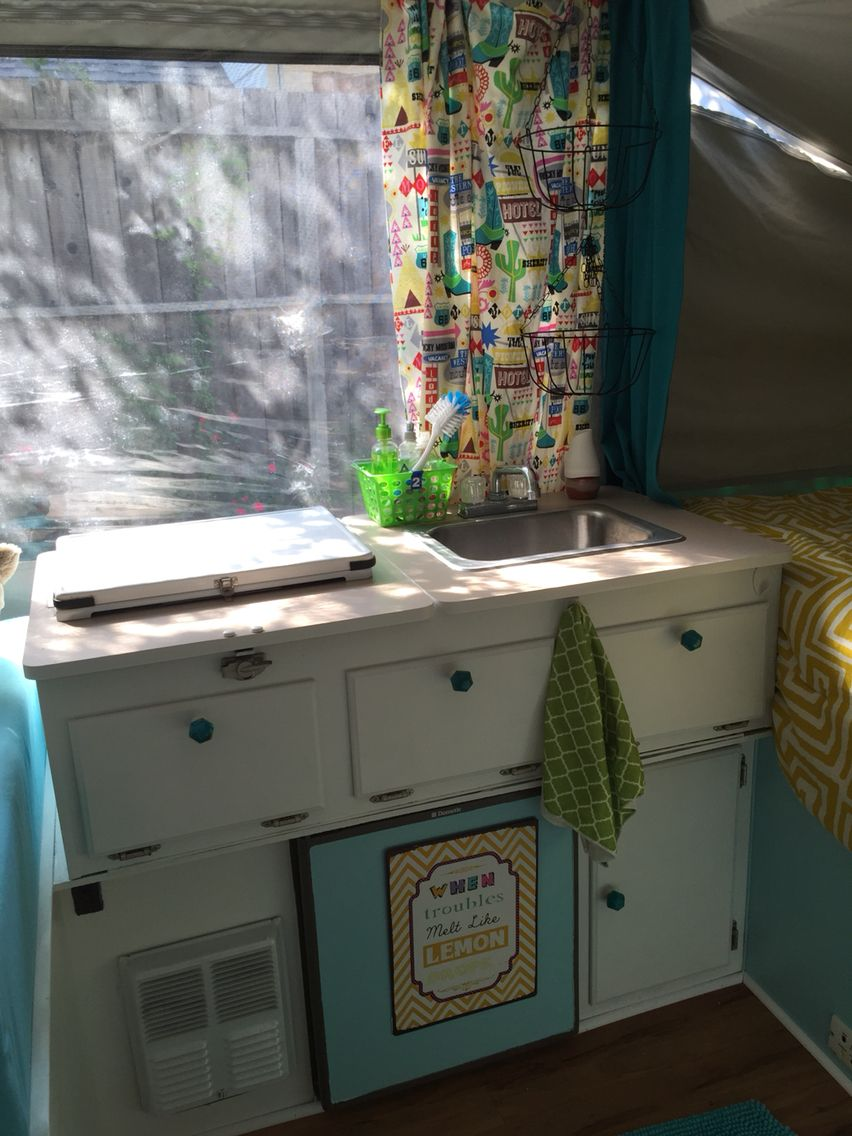 New Paint And Cabinet Hardware · Cabinet HardwarePop UpCamper