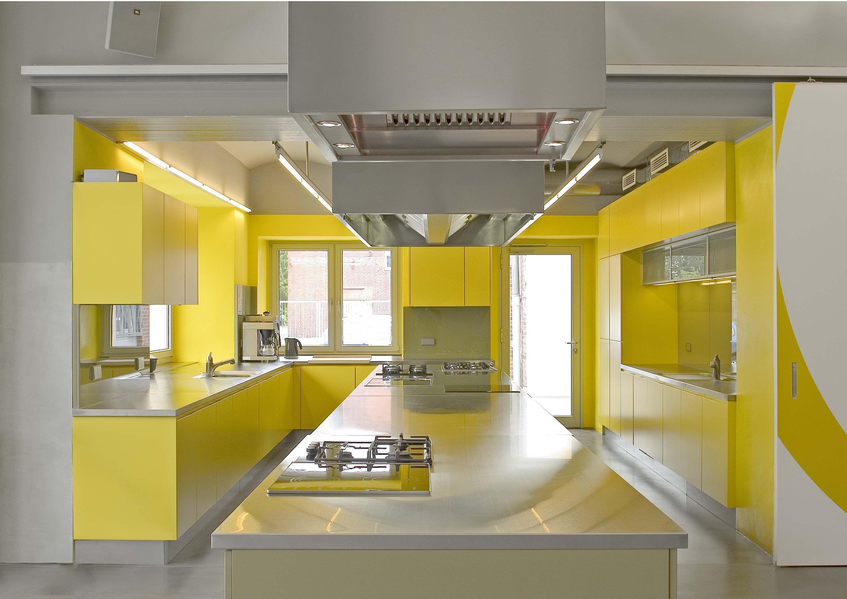 Modern Style Yellow Kitchen | Gelb | Pinterest | Gelb und Designs