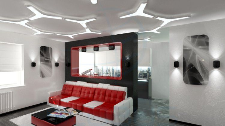 Buy High Tech Style Furniture In China Lighting Set Up Interior
