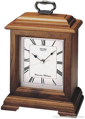 Seiko carriage mantel clock