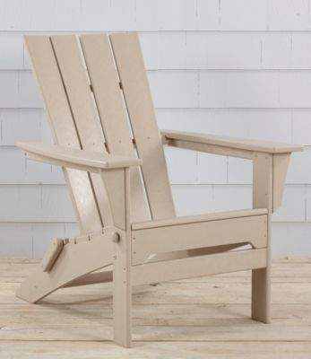 L.L. Bean L.L.Bean All-Weather Adirondack Chair Square-Back & L.L. Bean L.L.Bean All-Weather Adirondack Chair Square-Back ...
