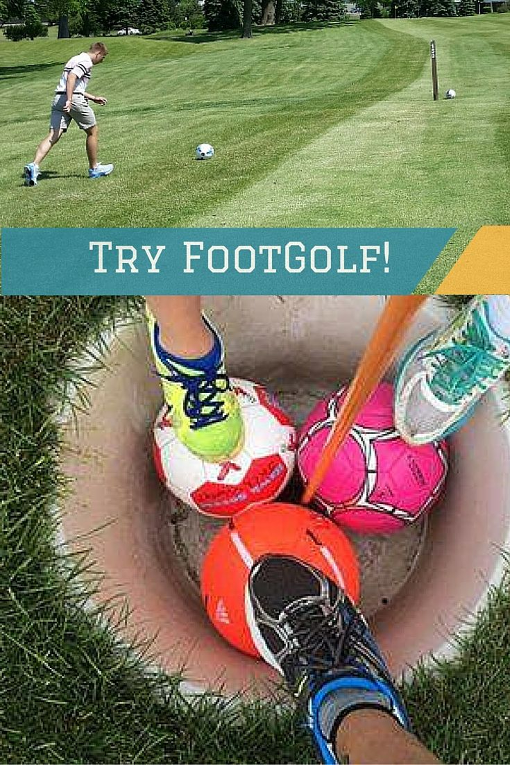 FootGolf - two great games in one! Learn more here > Currents online news (with links to tee times!).