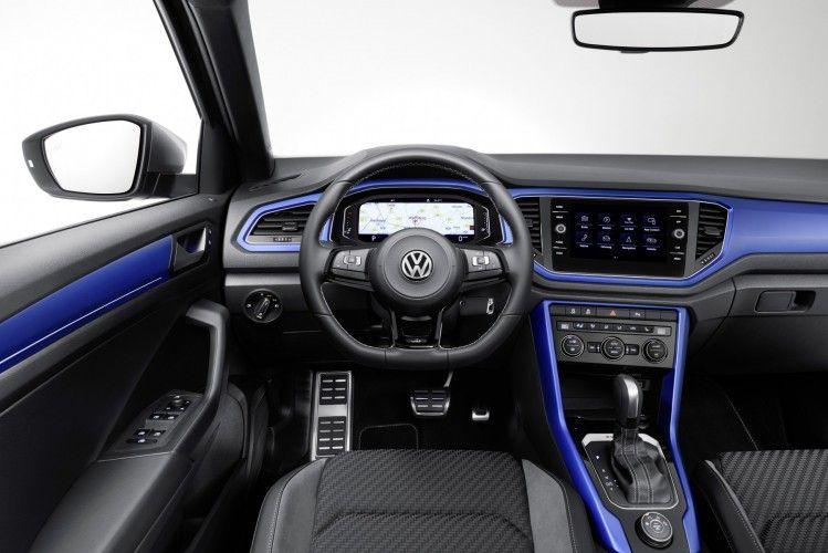 Het Interieur Van De Nieuwe Volkswagen T Roc R Volkswagen Volkswagen Interior Volkswagen Models