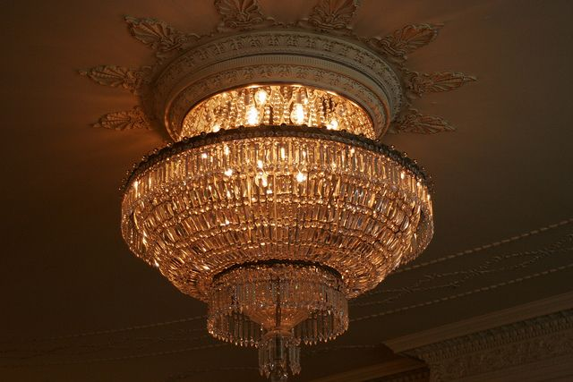 One of the chandeliers either in the music room or the parlor one of the chandeliers either in the music room or the parlor flickr aloadofball Images