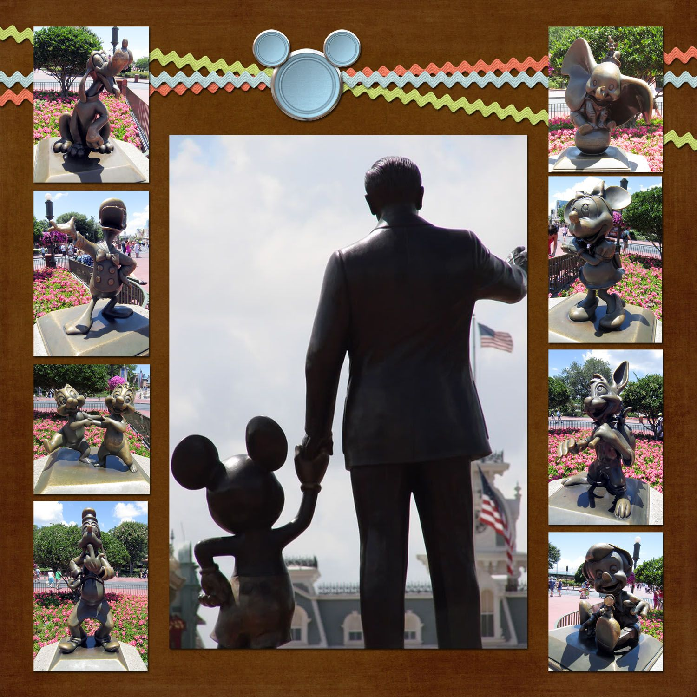 Disney Scrapbooking pages | 9 pics | Pinterest | Bilder erstellen ...
