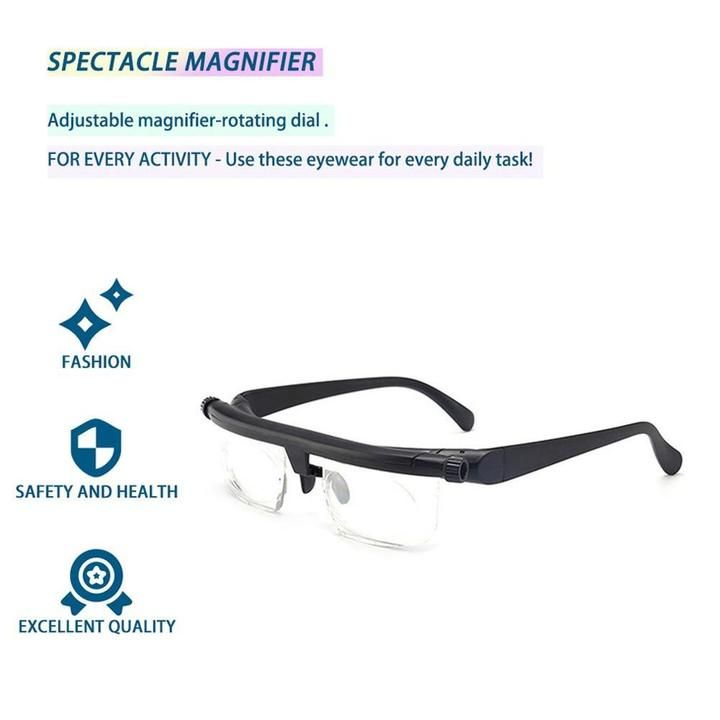 medical safety goggles with readers