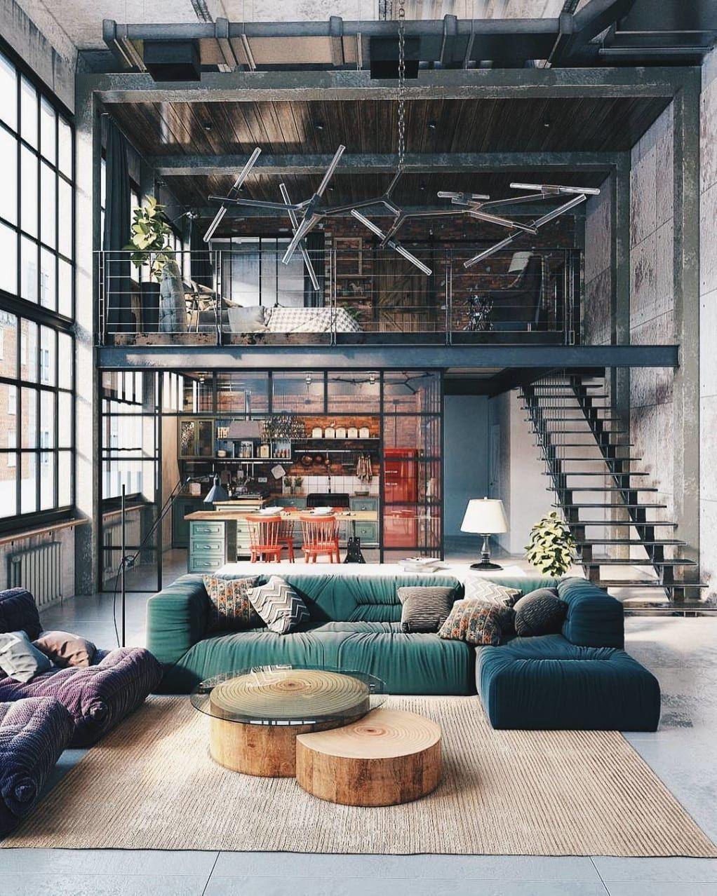 Minimal Loft Lighting
