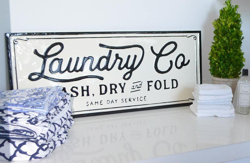 Metal Laundry Co Sign Laundry Signs Laundry Room Signs Laundry Room