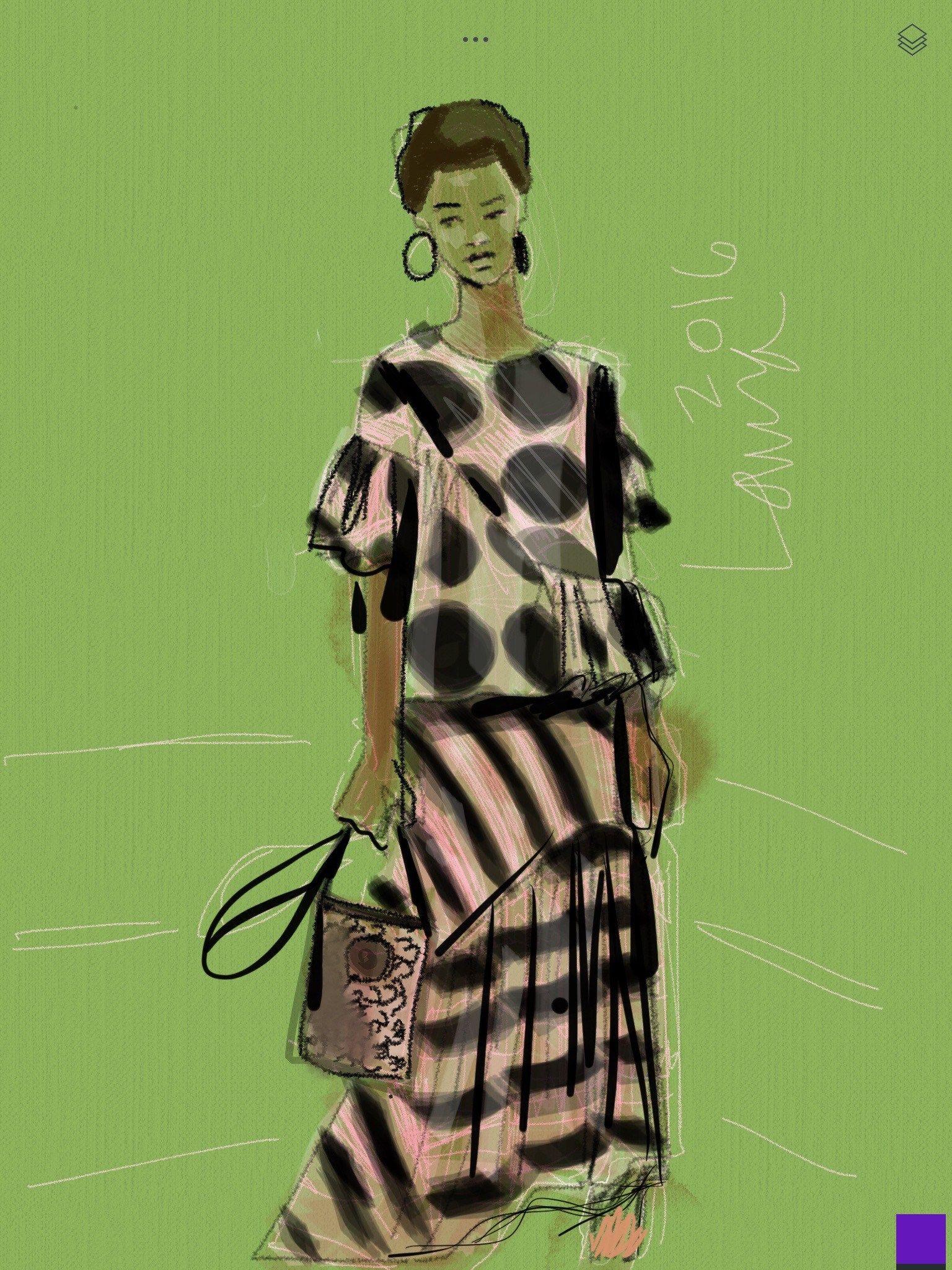 Drawing Apps Digital Fashion Illustration Fashion Illustration Fashion