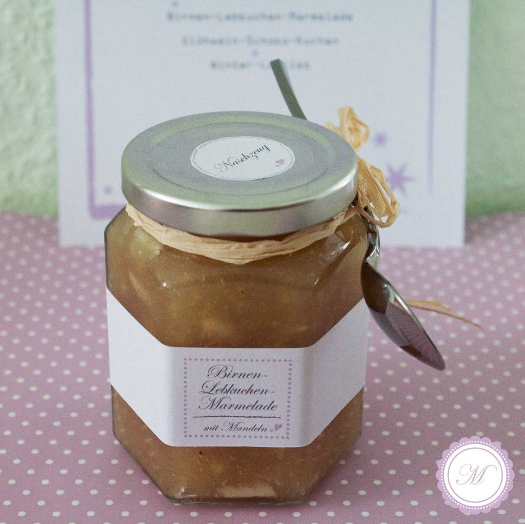 birnen lebkuchen marmelade lasst uns froh und lecker sein pinterest. Black Bedroom Furniture Sets. Home Design Ideas
