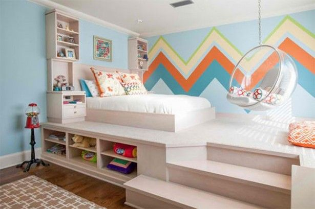 La chambre du0027enfant - idées pour lu0027aménager et la décorer Rainbows - Amenager Une Chambre D Enfant