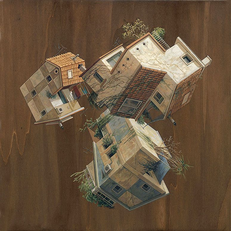 Cinta vidal gravities architectural paintings