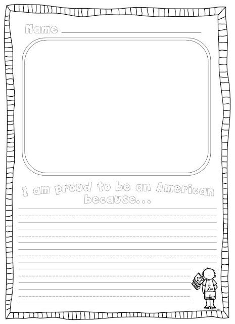 activities bies writing prompts social studies and writing prompt page i am proud to be an american because