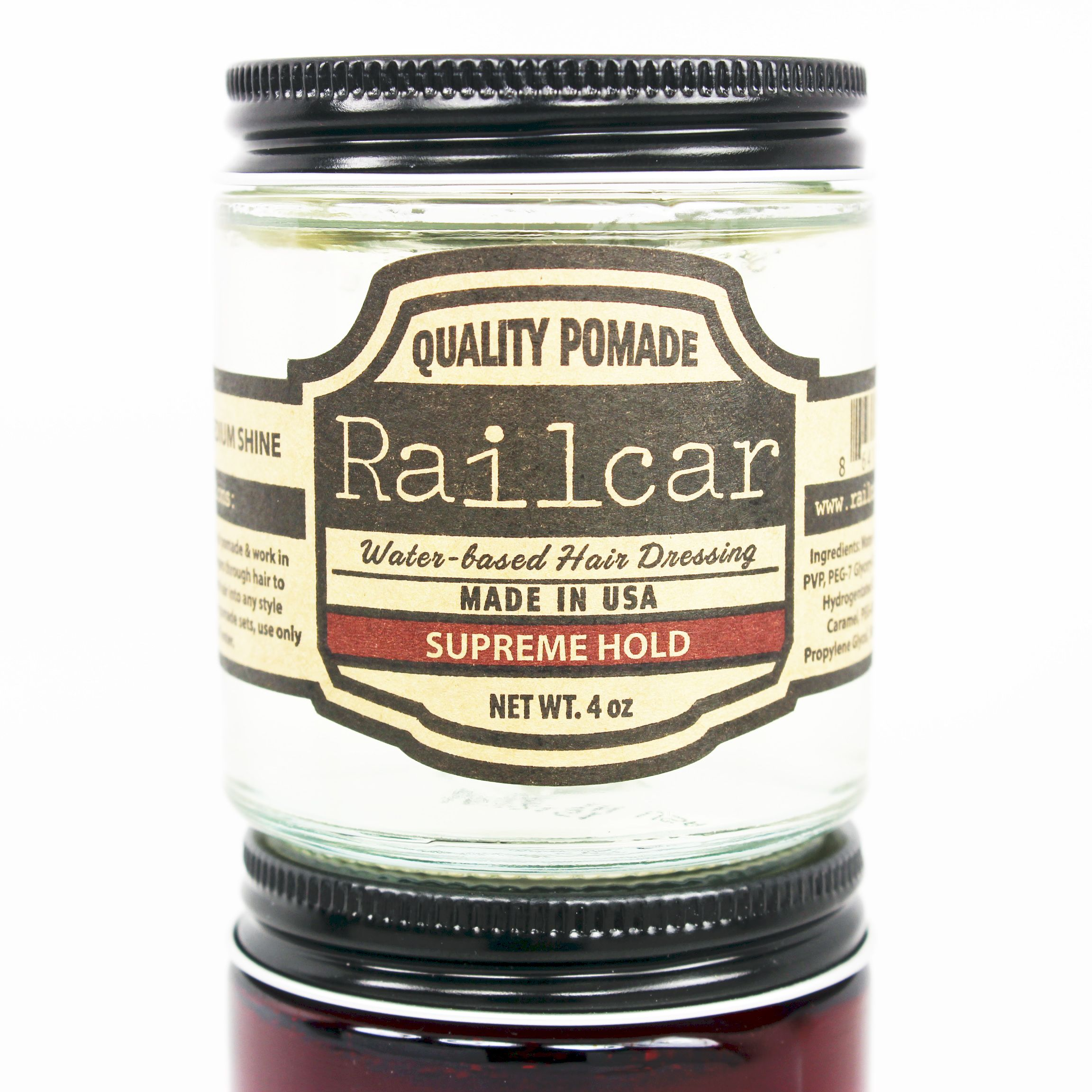 Starting The Week With A Clear Conscience New Railcar Clear In Supreme Hold The Customers Ask And The Company Liste Water Based Pomade Lighter Hair Hold On