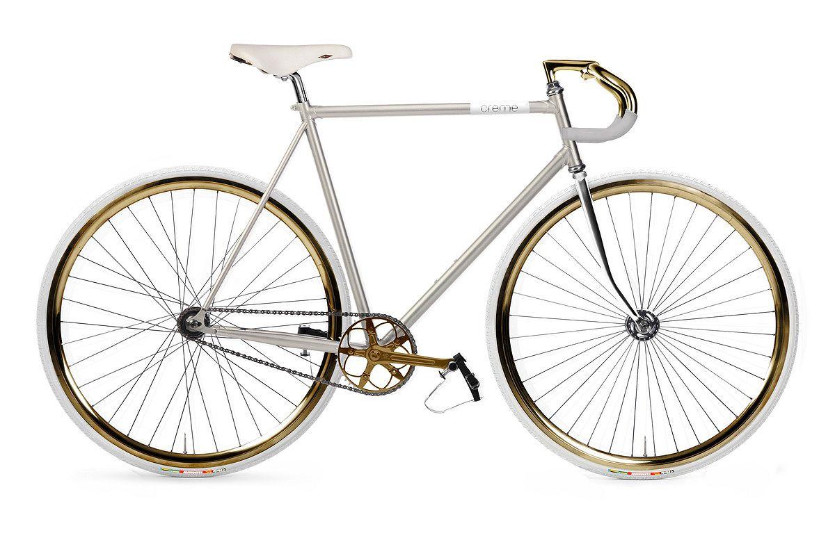 Creme Vinyl Doppio fixed gear pearl white | - wheel. | Pinterest ...