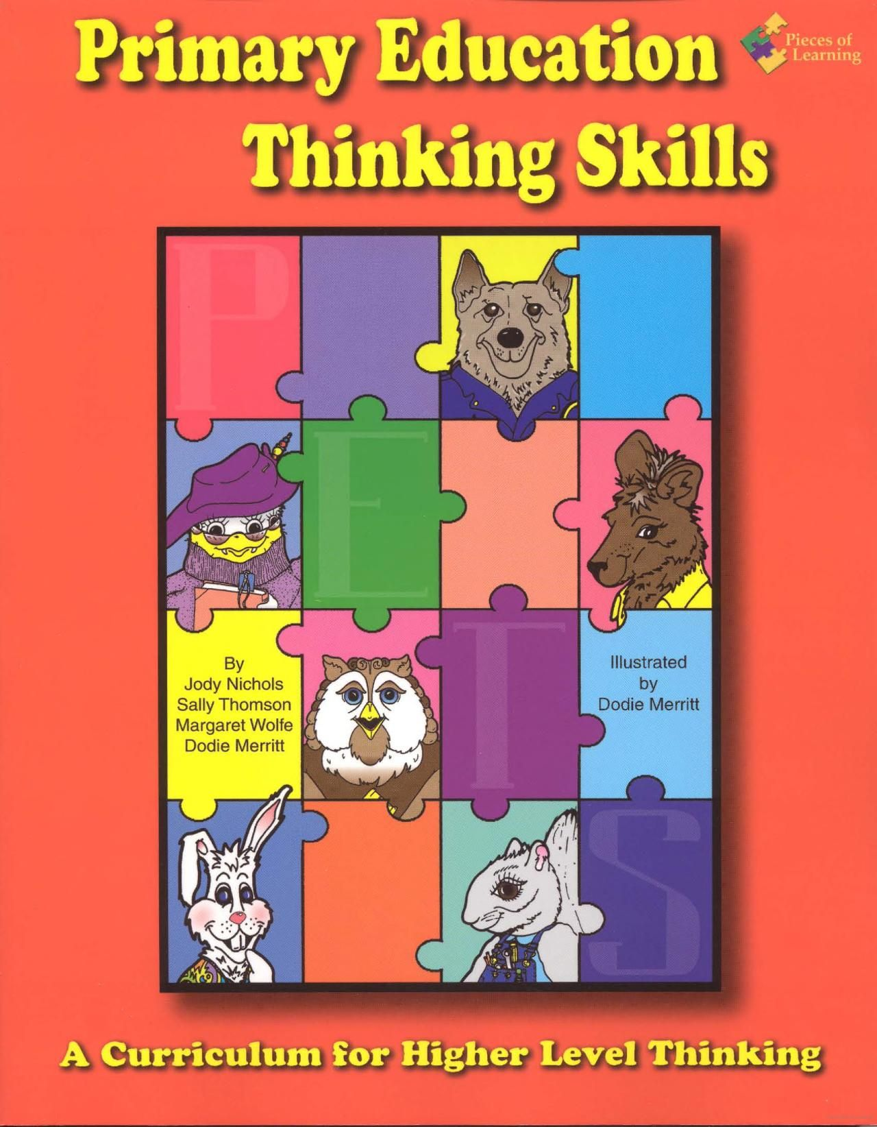 Primary Education Thinking Skills 1 Thinking Skills Primary Education Education Skills