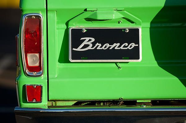 Car Tail Light Images by Jill Reger - Images of Tail Lights - Car Taillight Images - 1977 Ford Bronco Taillight