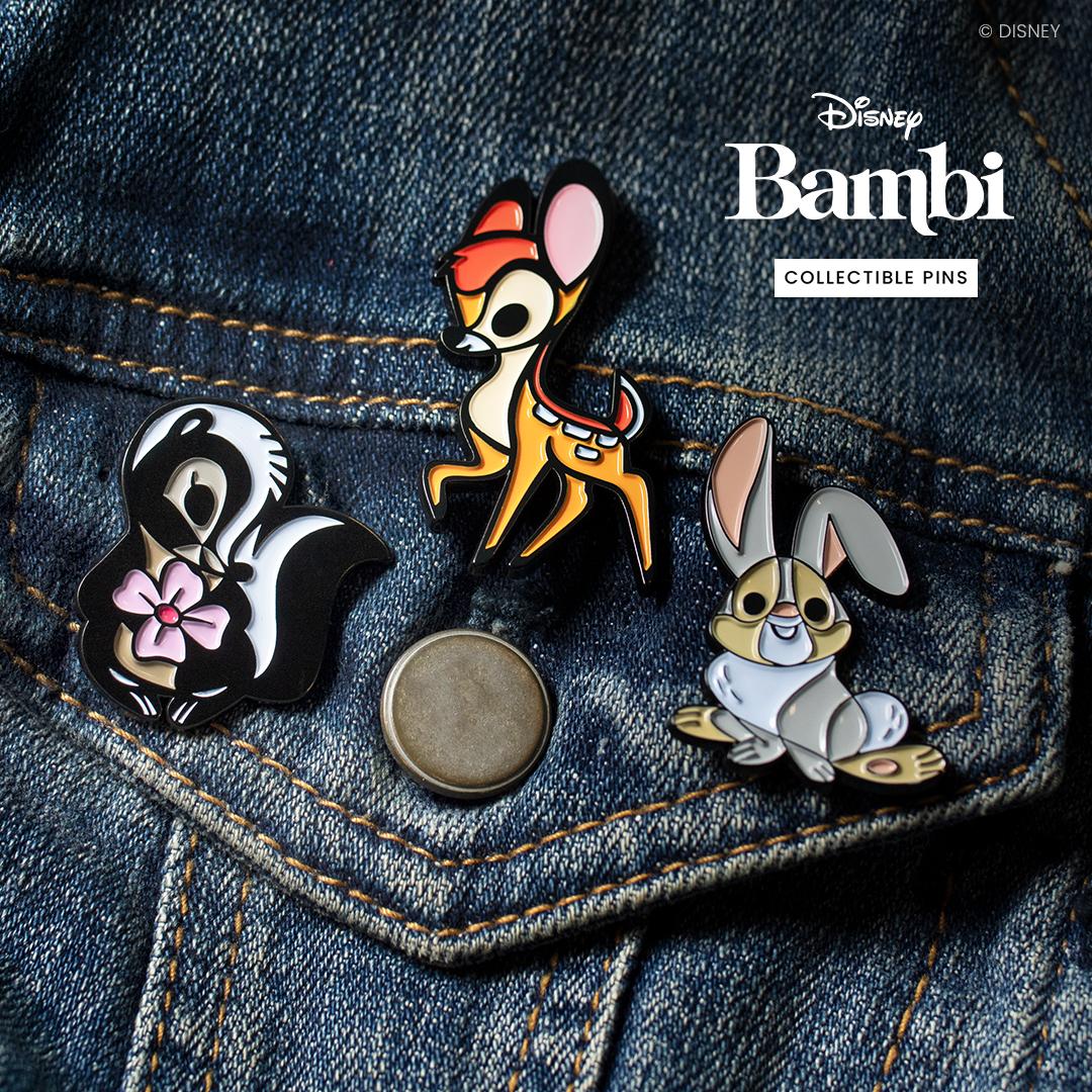 Disney's BAMBI Pins   Disney pins, Disney pin collections ...