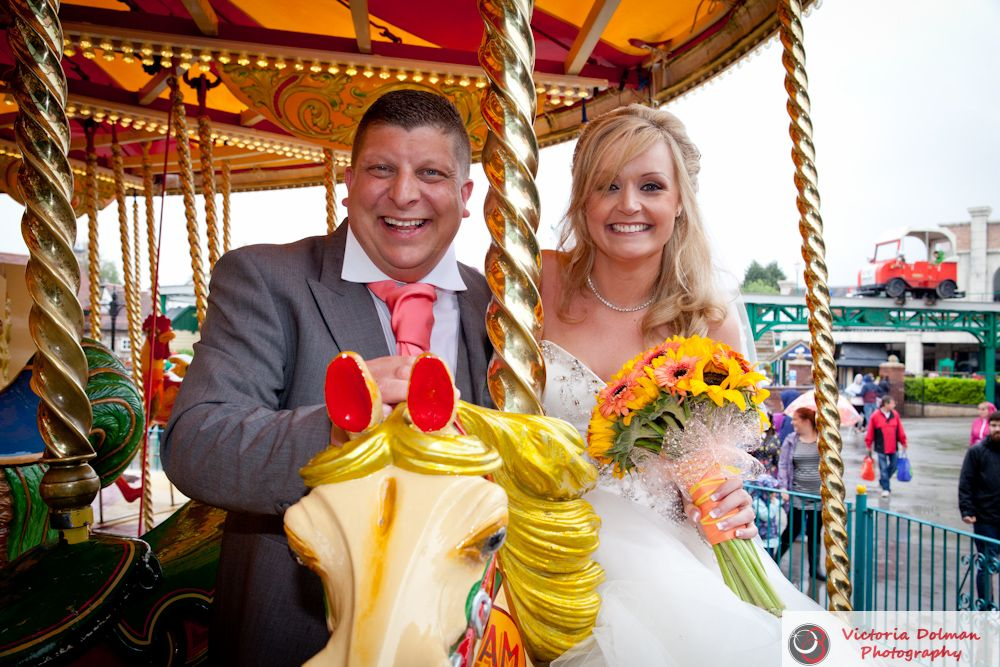 Drayton Manor Theme Park Wedding All The Fun Of The Fair