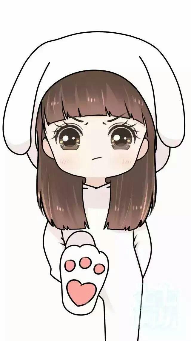 Rabbit Ilustrasi Karakter Ilustrasi Gambar Anime