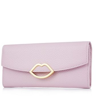 770c2147658da Lulu Guinness Trisha Grainy Leather Wallet order online at QVCUK.com ...