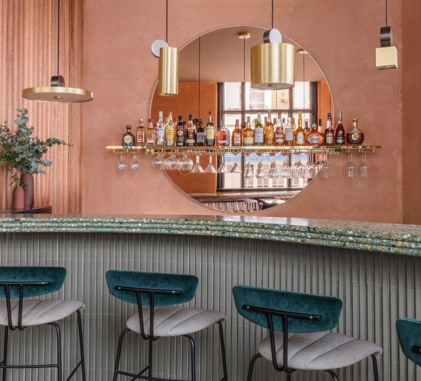 Inspirierend Wandfarbe Seidenglanzend Haus Interieur Ideen: Sella Concept Kombiniert Mediterrane Nuancen Und Texturen