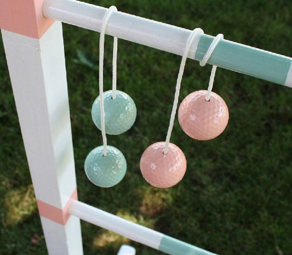Ladder Ball Bola Ball Sets Custom Colors For Weddings Or Sports
