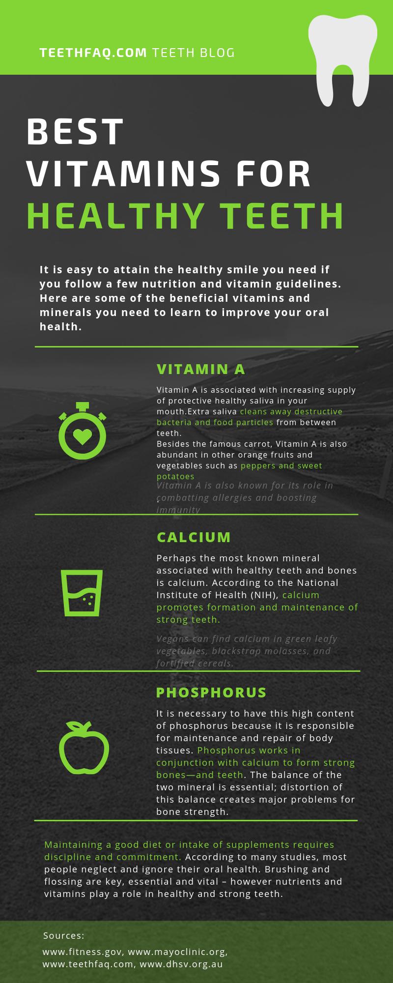 Gesunde Ernährung von Zähnen und Mund ist mehr, als das Auge vermuten lässt. Die Wichti …   – vitamin