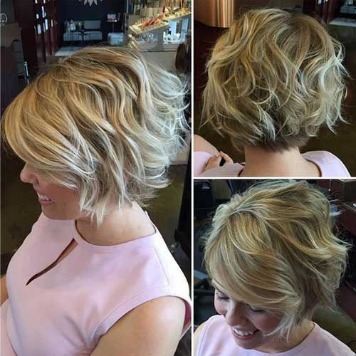 Www Short Haircut Com Wp Content Uploads 2016 11 15 Wavy Short Hair Jpg Frisuren Haarschnitte Haarschnitt Coole Frisuren