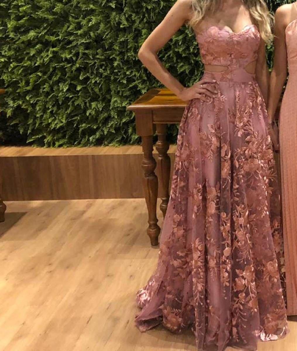 Vestido De Festa De Princesa Vestido De Festa Feminino