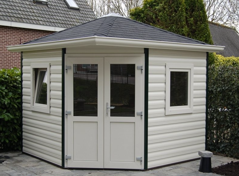 Romahaus Composite Summerhouses custom made Tuinhuizen