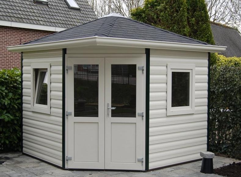 Romahaus Composite Summerhouses custom made Tuinhuizen