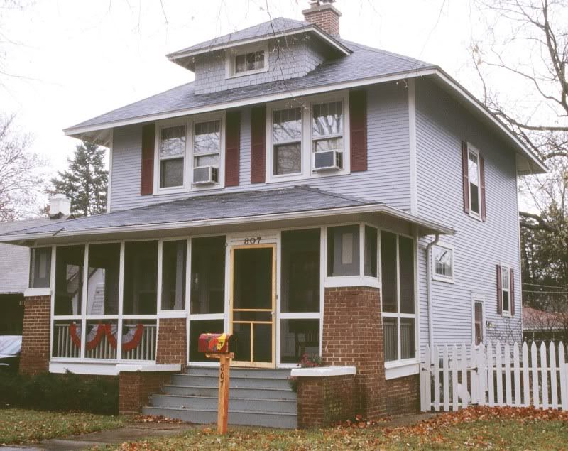 Sears Fullerton In Aurora Il Craftsman House Bungalow Homes