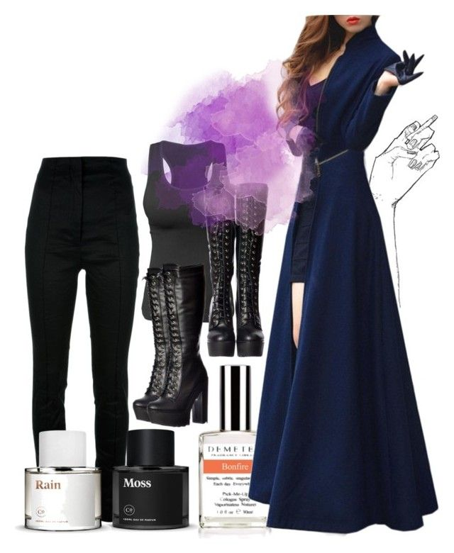 """""""Skies were blue"""" by ironraven281 ❤ liked on Polyvore featuring Haider Ackermann and Demeter Fragrance Library"""